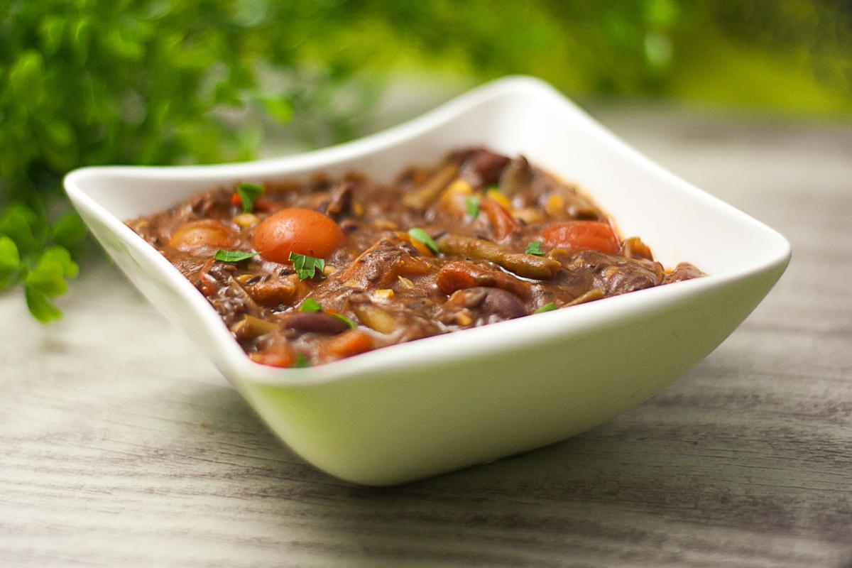 Chili con Linaza - Veganes Low Carb Chili ohne Gluten