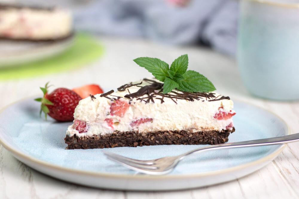 Die Erdbeer-Mascarpone-Torte ist perfekt für den Sommer!