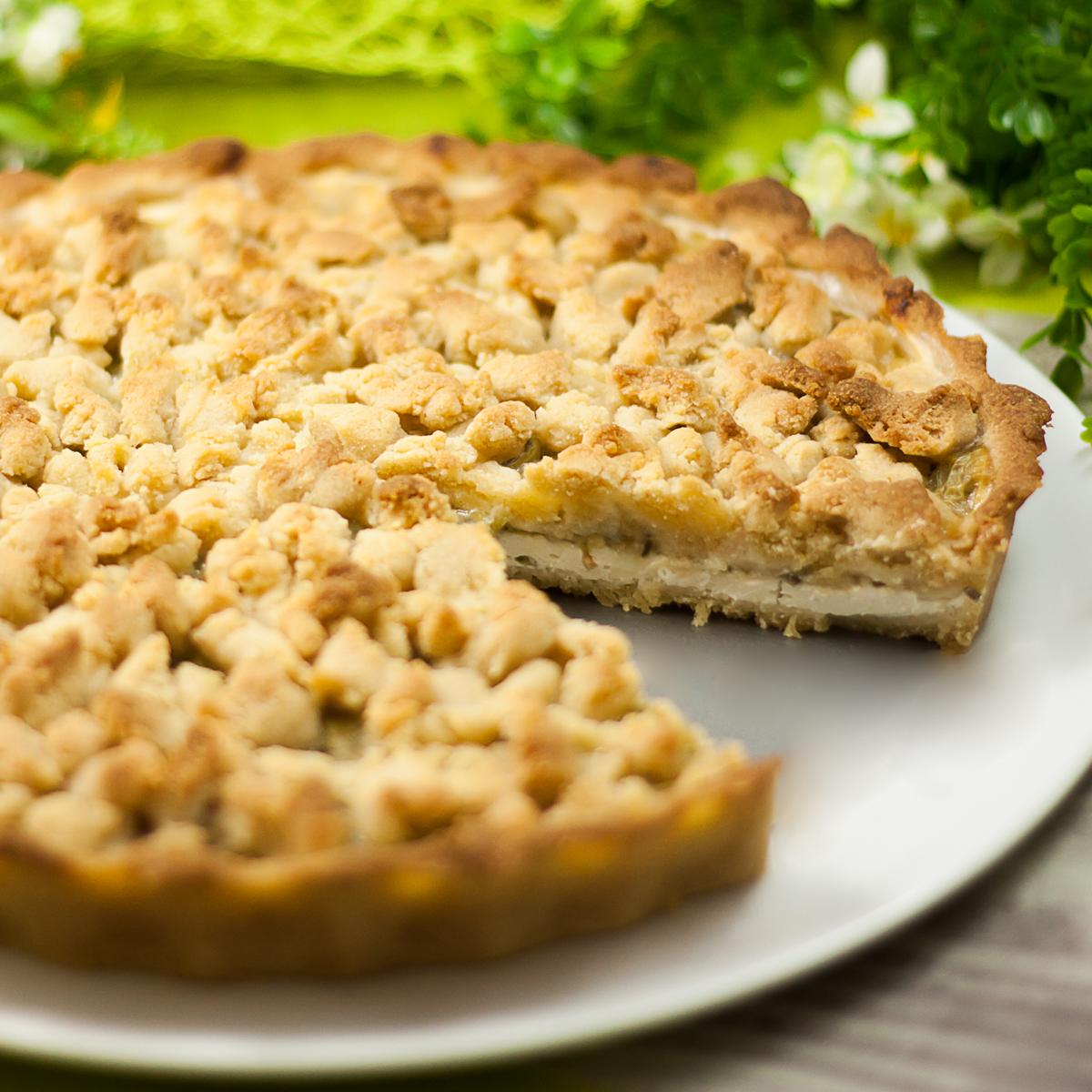 Der Stachelbeerkuchen ist ein leckerer Low Carb Kuchen der auch noch glutenfrei ist.