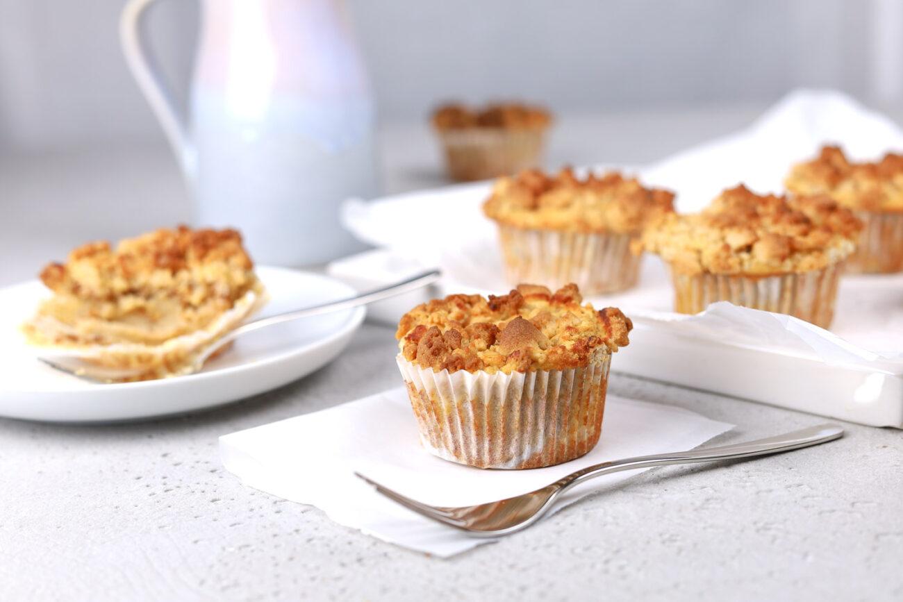 Apfel-Streusel-Muffins, saftig und lecker