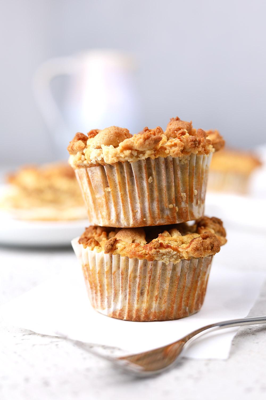 tolle Apfel-Streusel-Muffins ohne Zucker