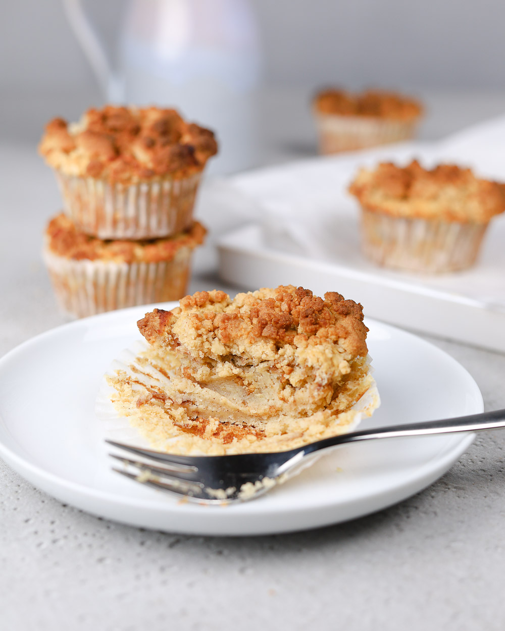 Apfe-Streusel-Muffins