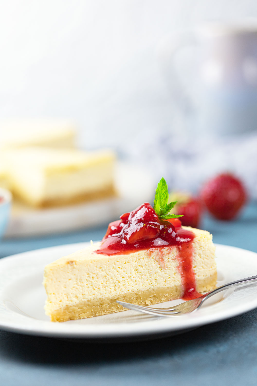 Low Carb Cheesecake New York Style