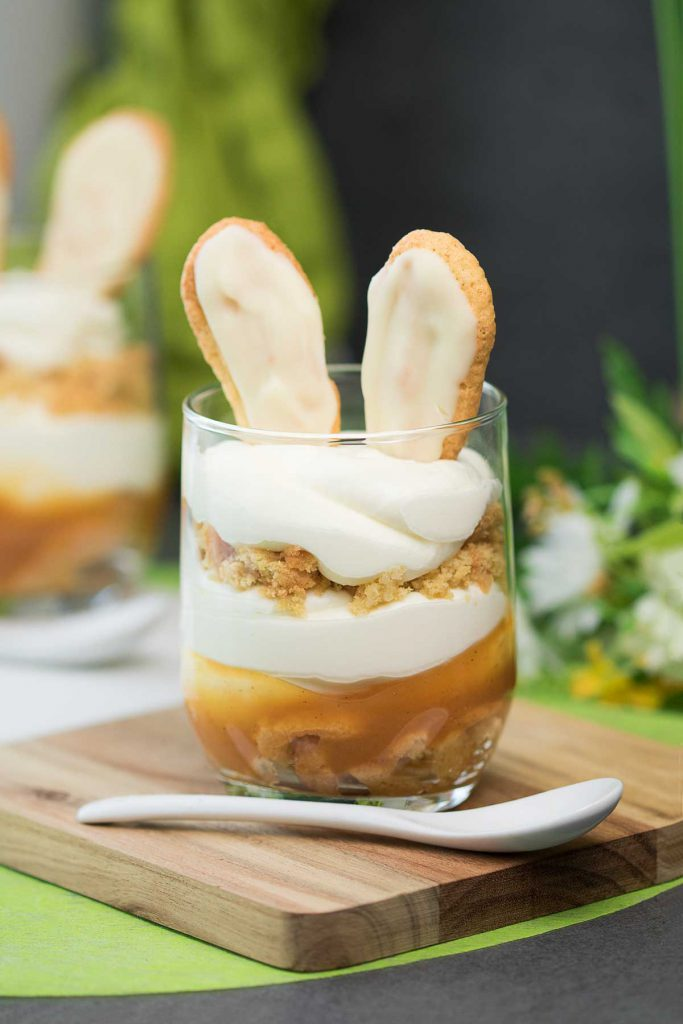 Das Aprikosen_Tiramisu ist Low Carb, zuckerfrei und glutenfrei.