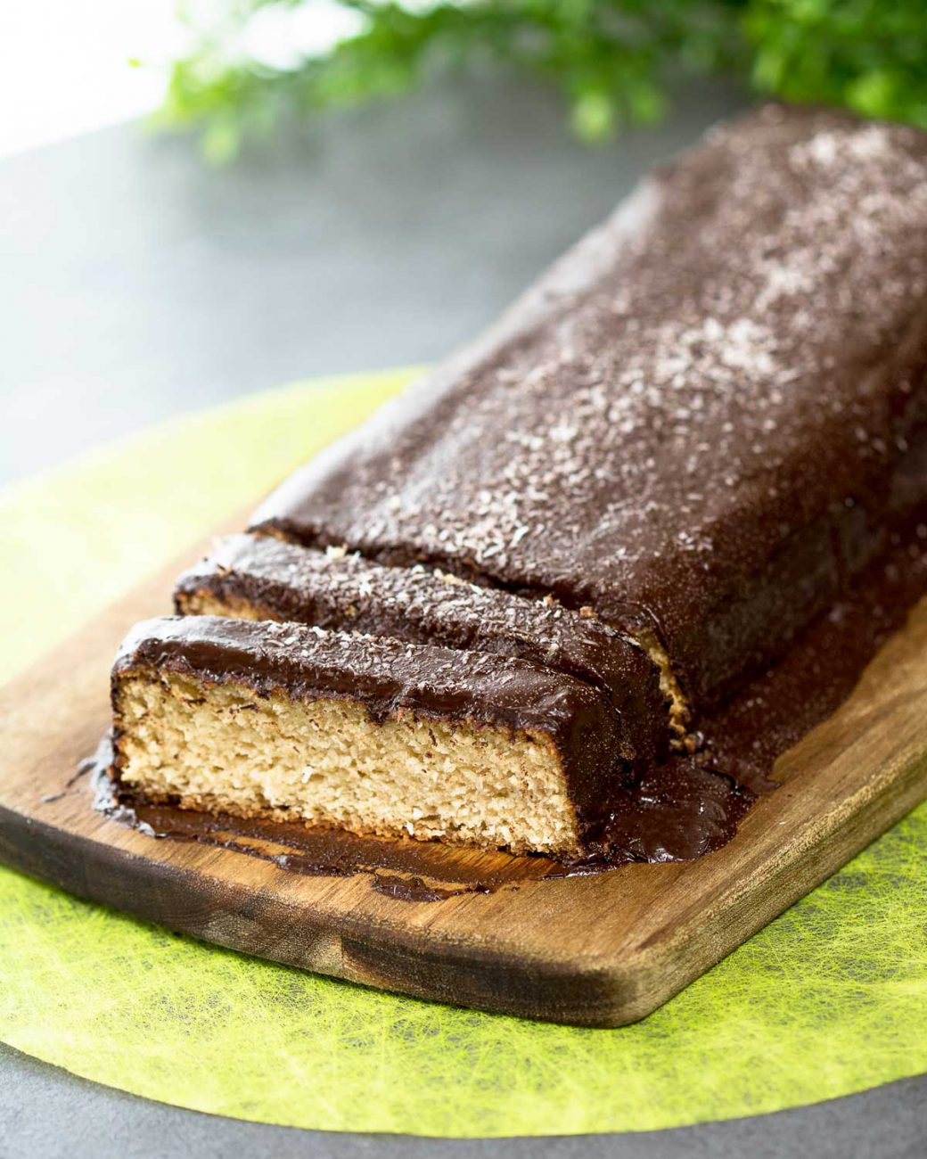 Bounty-Kuchen ohne Kohlenhydrate