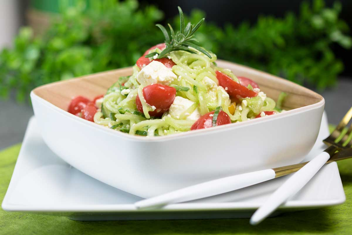 Gurken-Tomaten-Salat