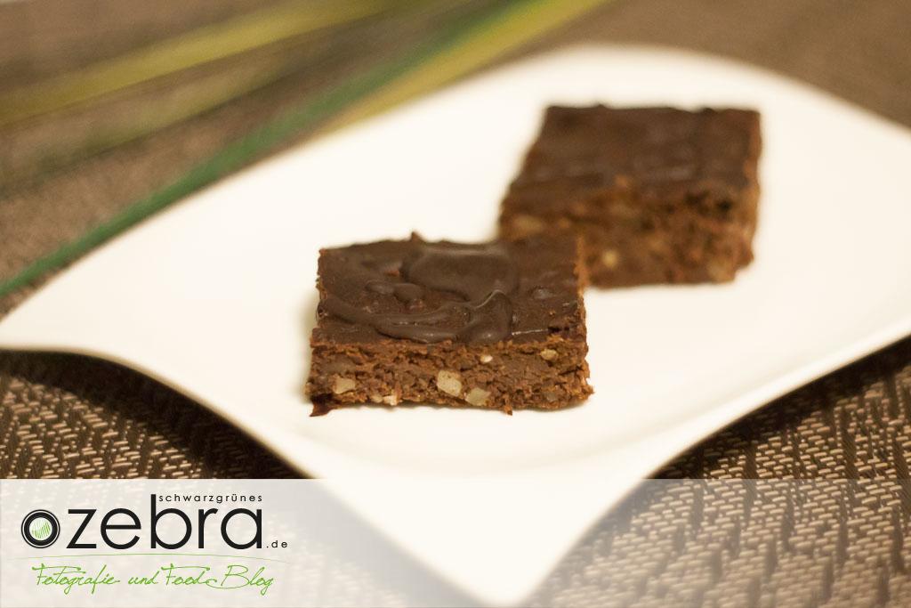 Die Haselnuss-Brownies sind lecker und Low Carb.