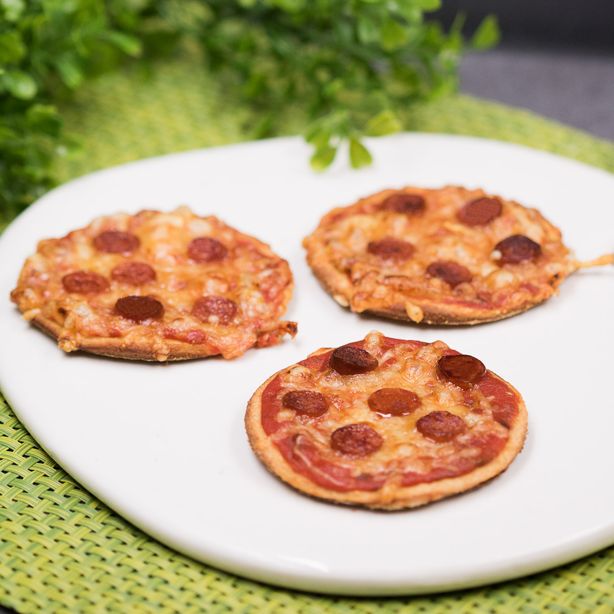 Die Piccolinis sind lecker Low Carb und glutenfrei!