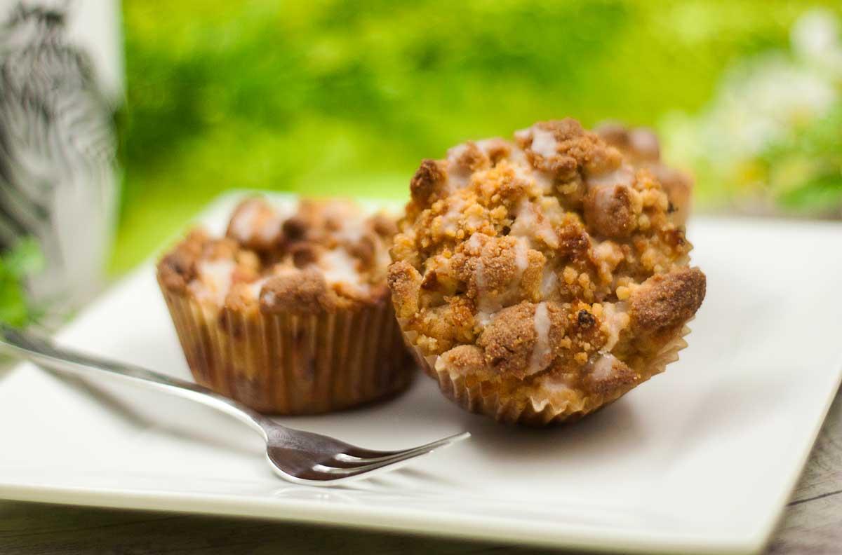 Apfel-Zimt-Muffins, saftig und lecker