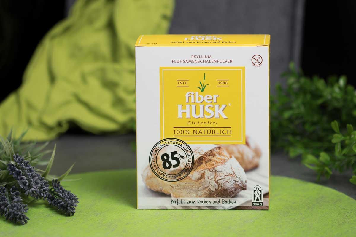 Das Flohsamenschalenpulver von Fiber Husk ist lecker und ohne Kohlenhydrate!