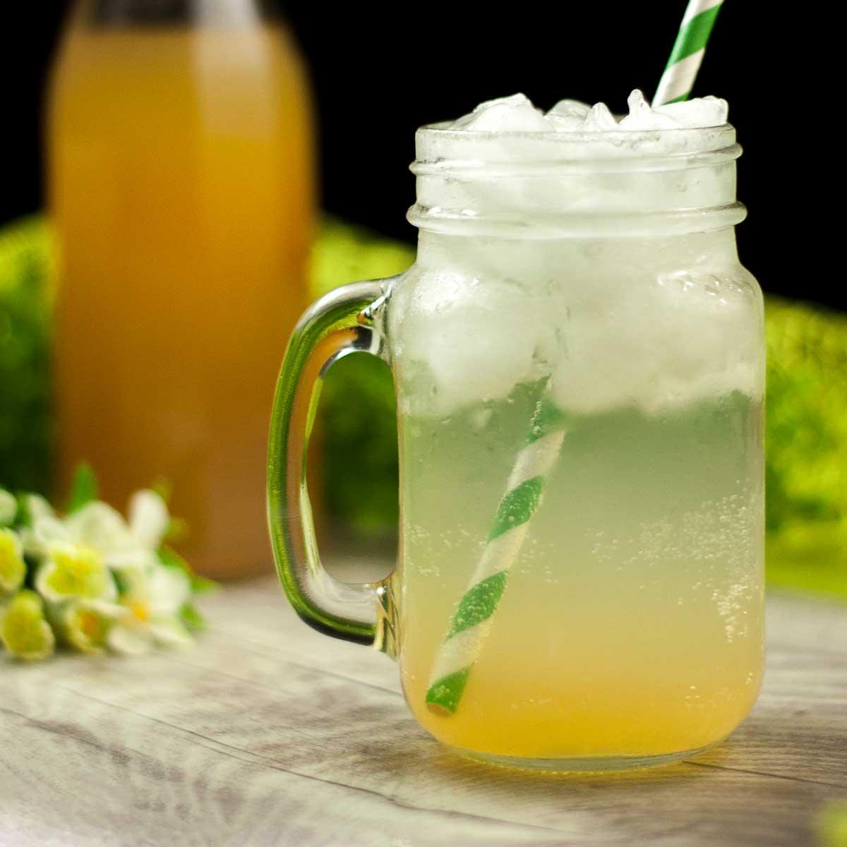Der Low Carb Zitronen-Sirup ist perfekt für Limonaden oder Cocktails.