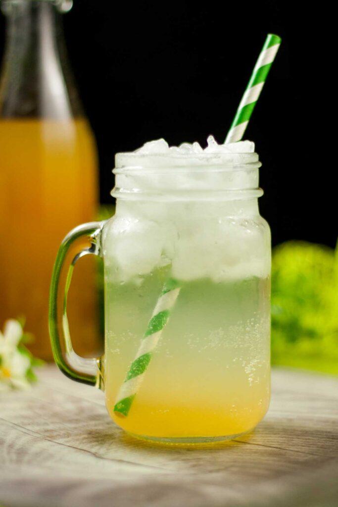 Der Low Carb Zitronen-Sirup ist Lecker und zuckerfrei. Das Rezept eignet sich perfekt für Limonaden oder Cocktails