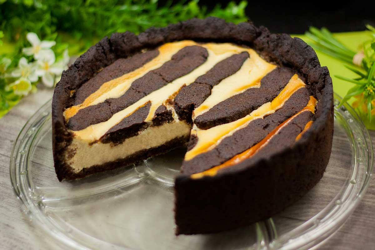 Dieser Kuchen ist ein echter Klassiker. Russischer Zupfkuchen ohne Zucker, ohne Mehl und ohne Kohlenhydrate.