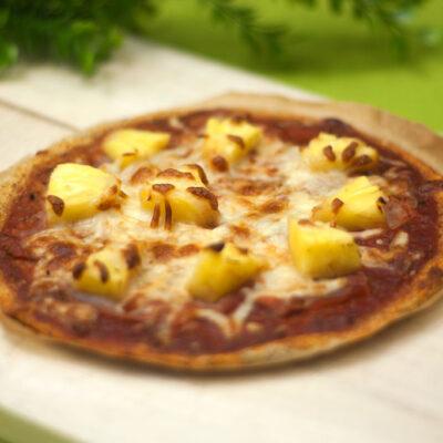 Die Chia-Samen-Pizza ist Low Carb, glutenfrei und super lecker