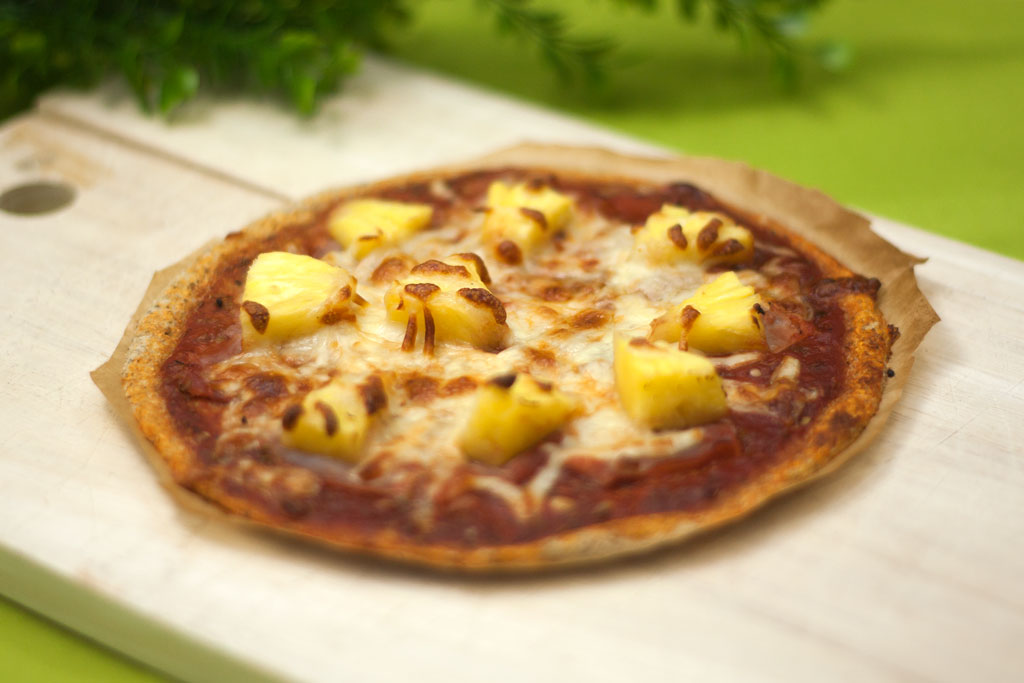 Chia-Samen-Pizza