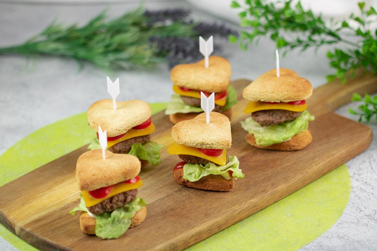 Mini Herz-Burger