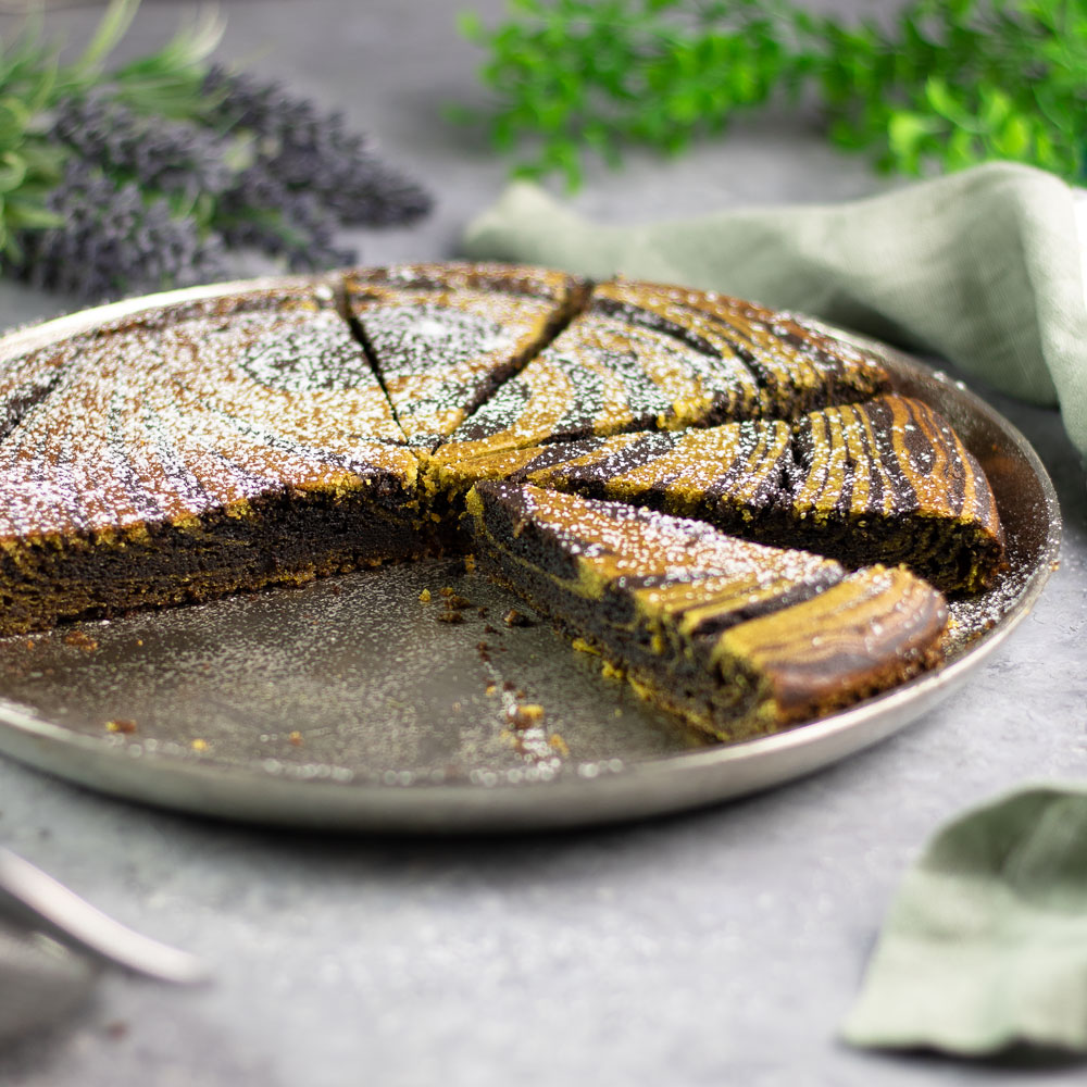 Pistazien-Schoko-Kuchen