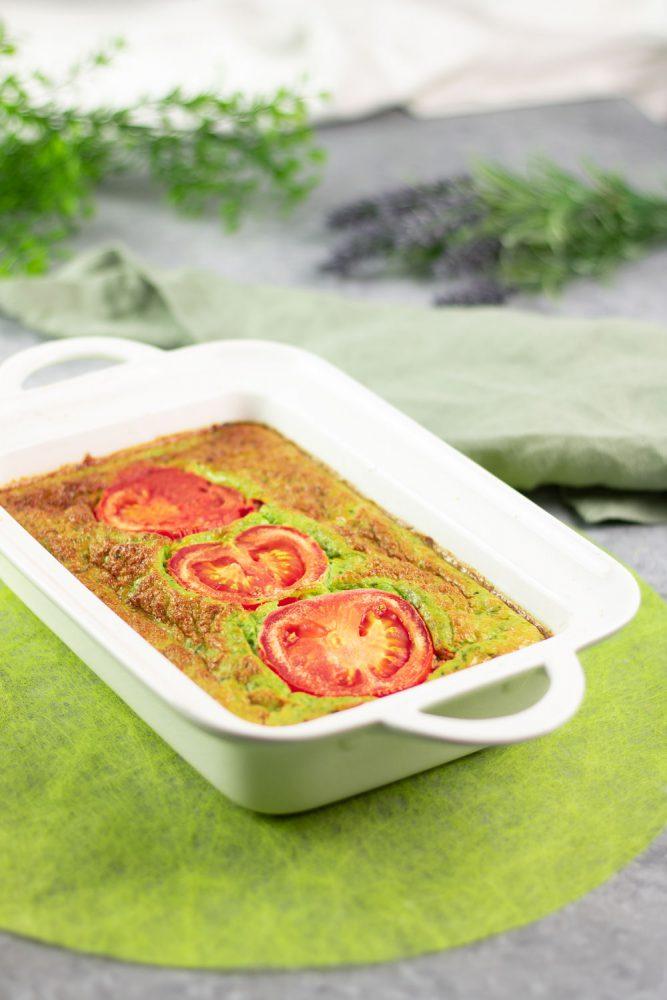 Bärlauch-Tomaten-Frittata
