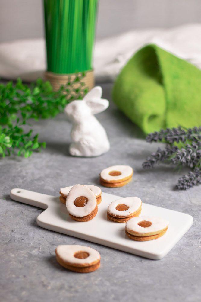 Spiegelei-Kekse