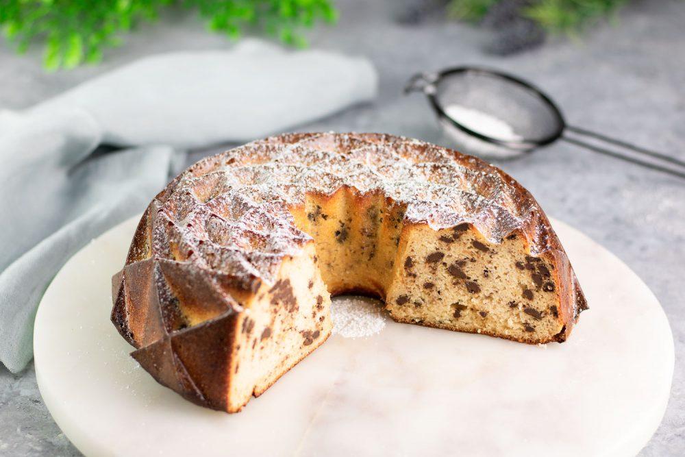 Low Carb Stracciatella-Kuchen
