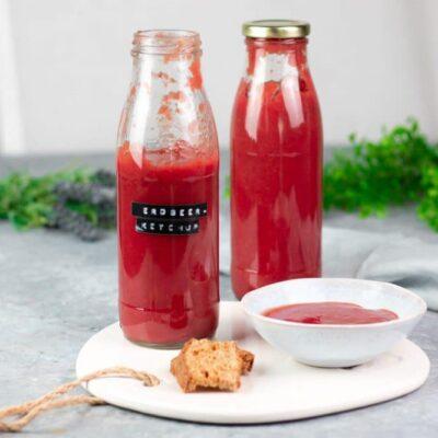Low Carb Erdbeer-Ketchup