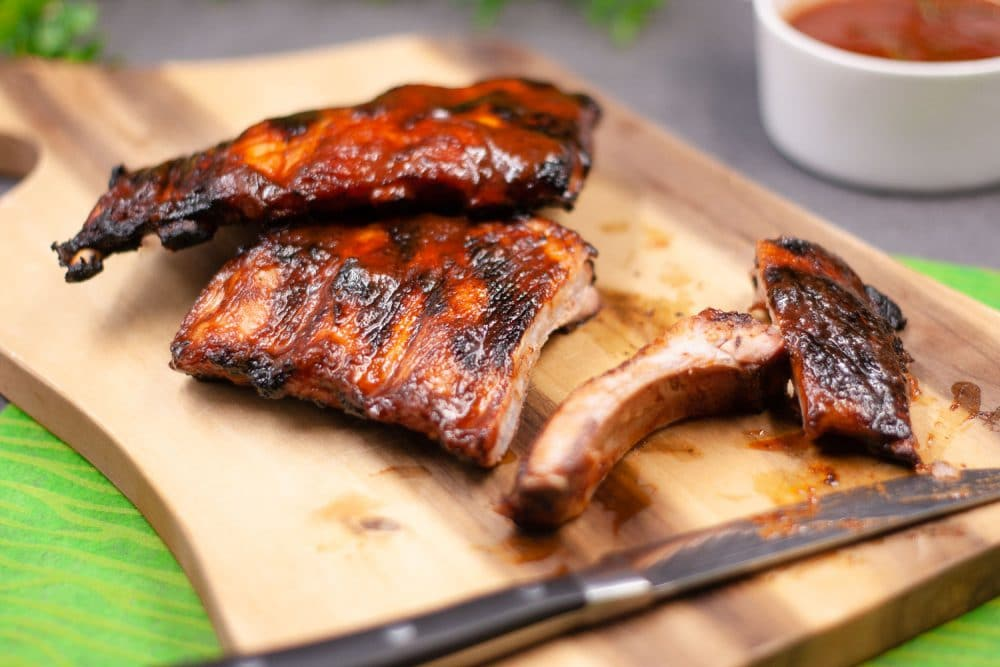 Leckere Low Carb Spareribs