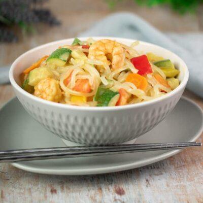 Die Shileo-Nudeln sind Low Carb, glutenfrei, zuckerfrei und vegan.