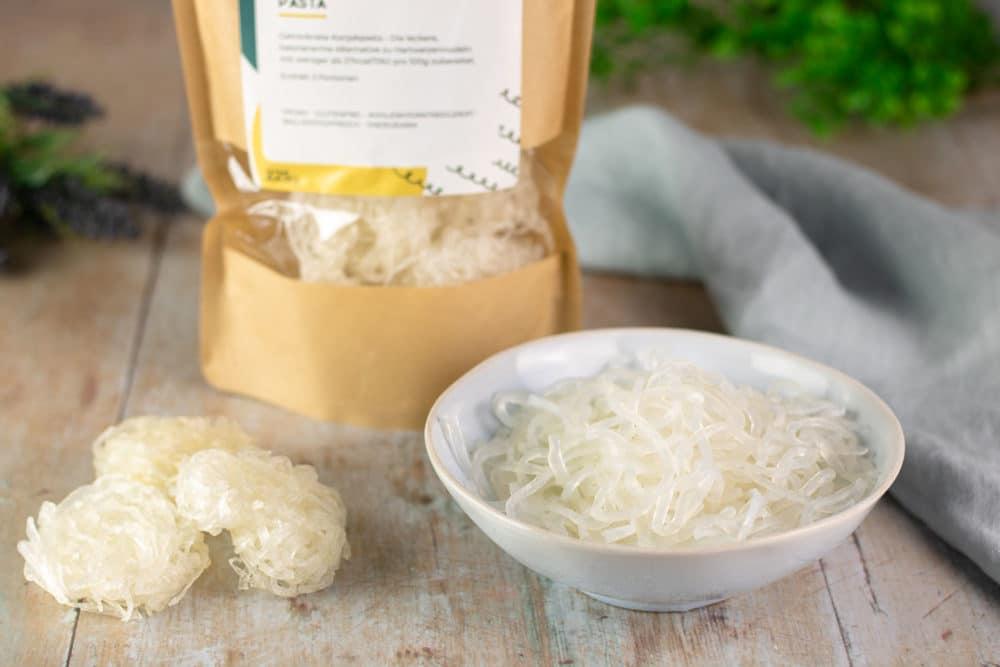 Die Shileo Nudeln sind lecker Low Carb, glutenfrei und vegan