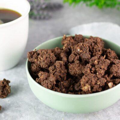 Die Müsli-Crossis sind ein leckerer Low Carb Snack. Das Rezept ist einfach zu machen und schmeckt einfach klasse!