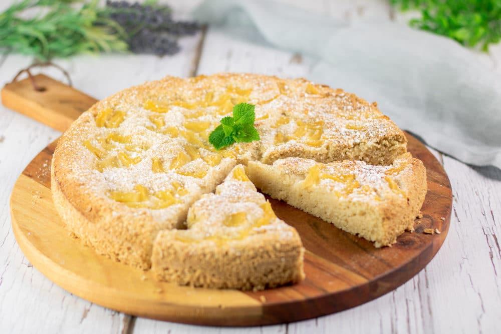 Low Carb Pina-Colada-Kuchen