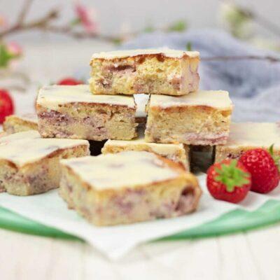 Diese Erdbeer-Whities sind lecker Low Carb und glutenfrei.