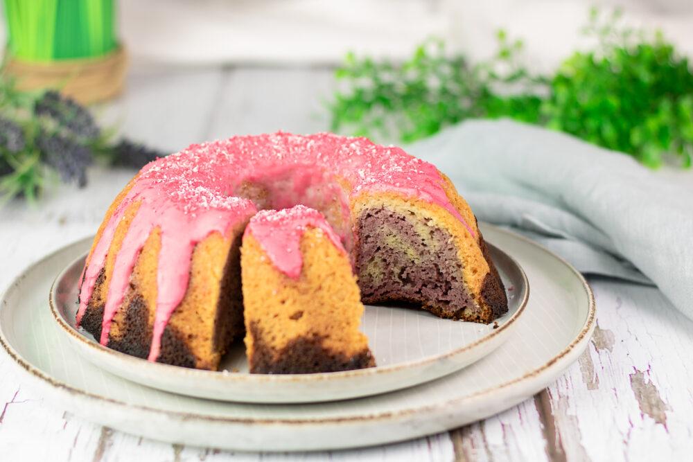 Himbeer-Gugel – Marmorkuchen mal anders!