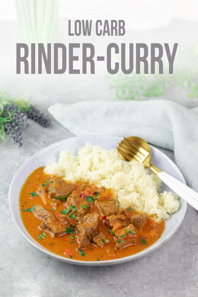 Leckeres Rinder-Curry nach indischer Art.