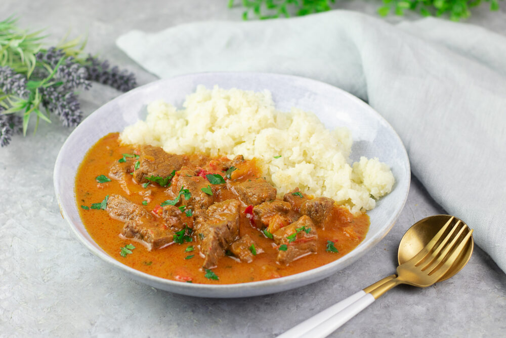 Low Carb Rinder-Curry