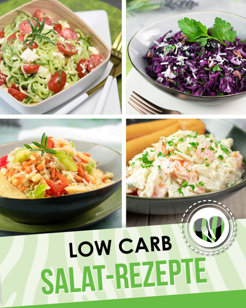 10 leckere Salat-Ideen ohne Kohlenhydrate