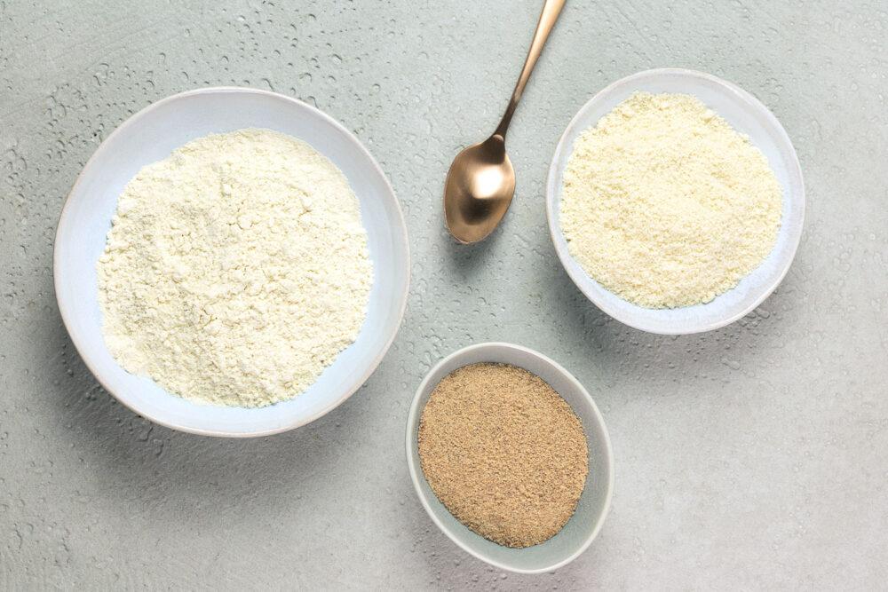 Was ist der Unterschied zwischen gemahlene Mandeln und Mandelmehl?