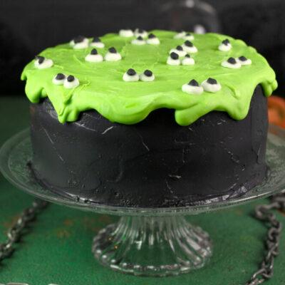 Die Slime-Torte ist Low Carb, glutenfrei und mega lecker!