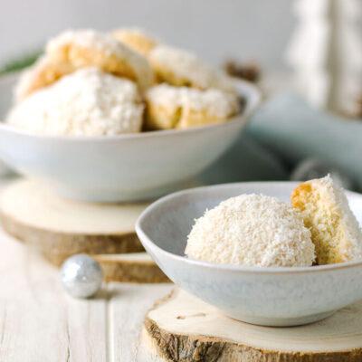 Diese Kokoskekse sind Low Carb Keto und für Allergiker