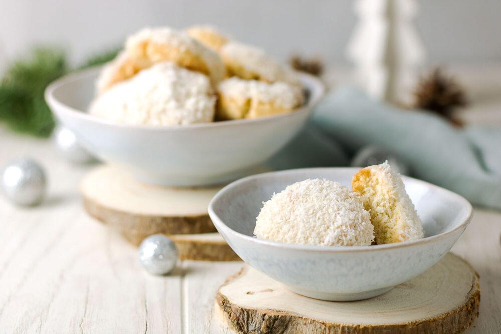 Leckere Kokoskekse ohne Zucker