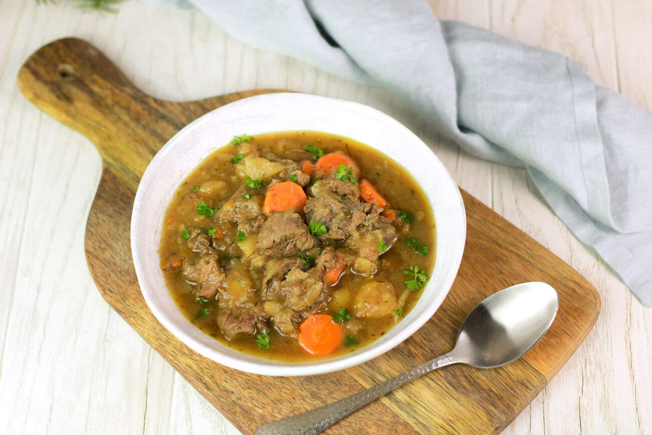 Super leckeres Irish Stew mit wenig Kohlenhydraten