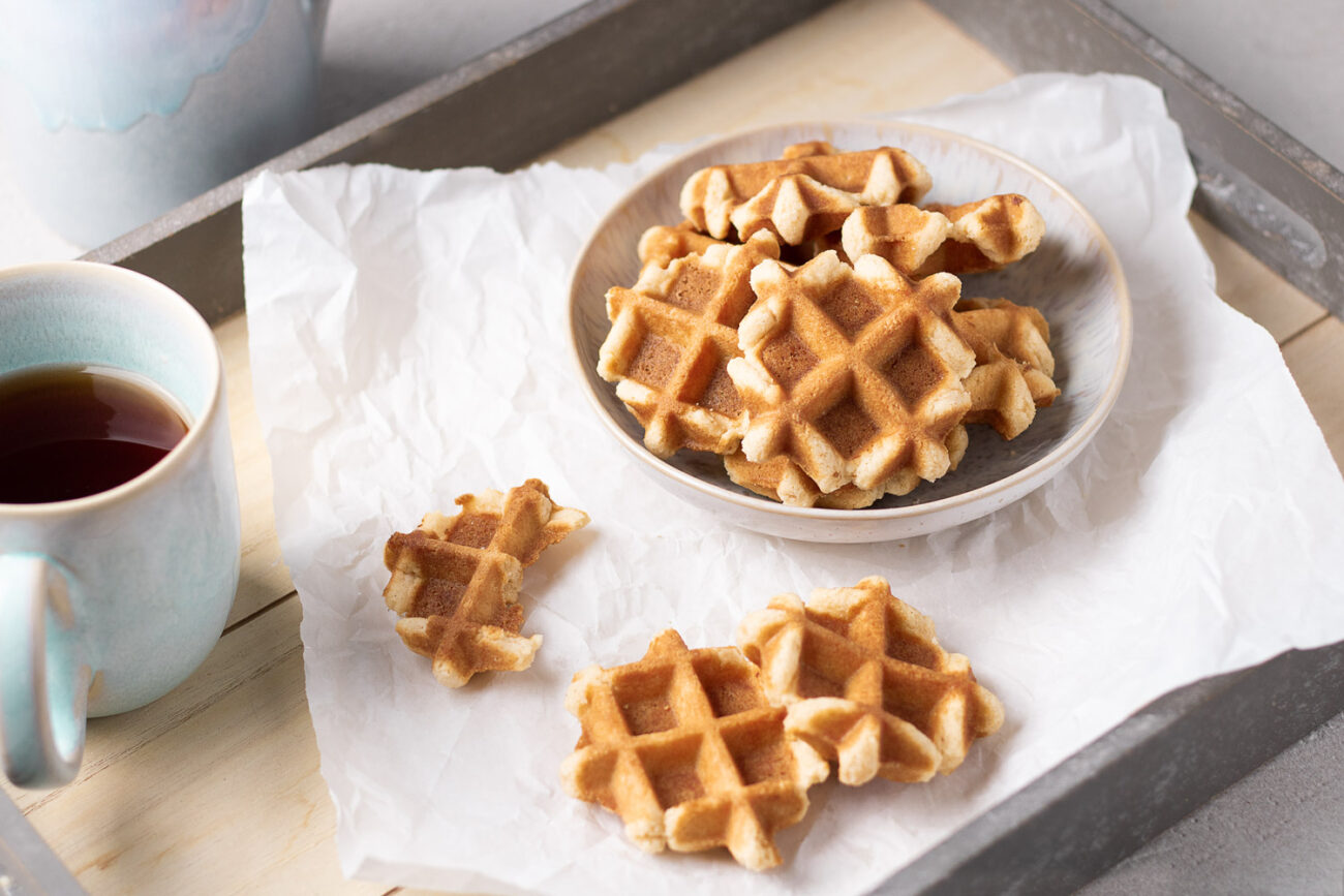 Low Carb Waffel-Kekse