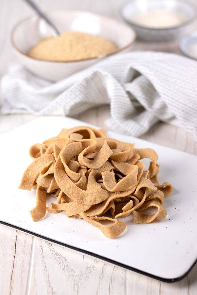 Low Carb Nudeln ohne Gluten, ohne Soja, ohne Eiweißpulver