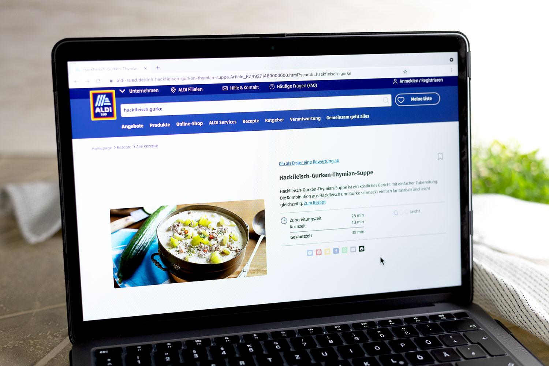 Hackfleisch-Gurken-Suppe von Aldi Süd