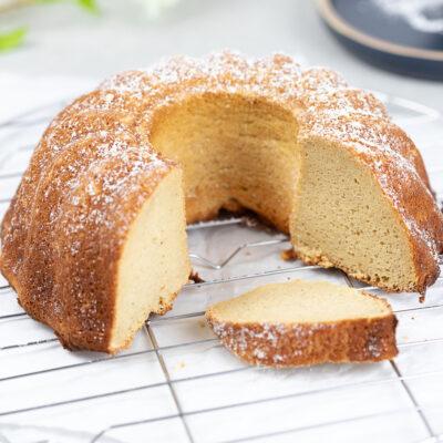 Grundrezept: Low Carb Rührkuchen - Auch Keto