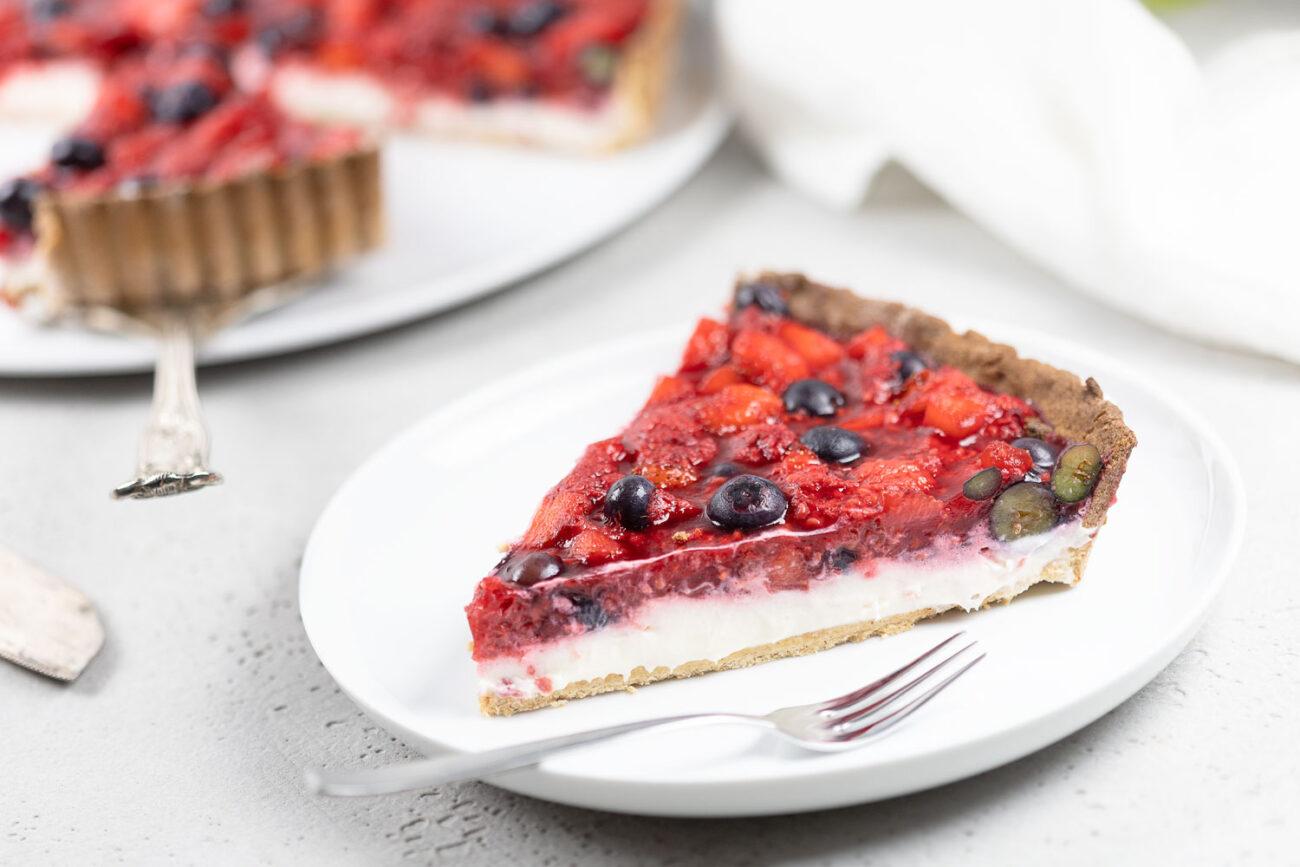 Frische Beeren-Tarte – so fruchtig und lecker!