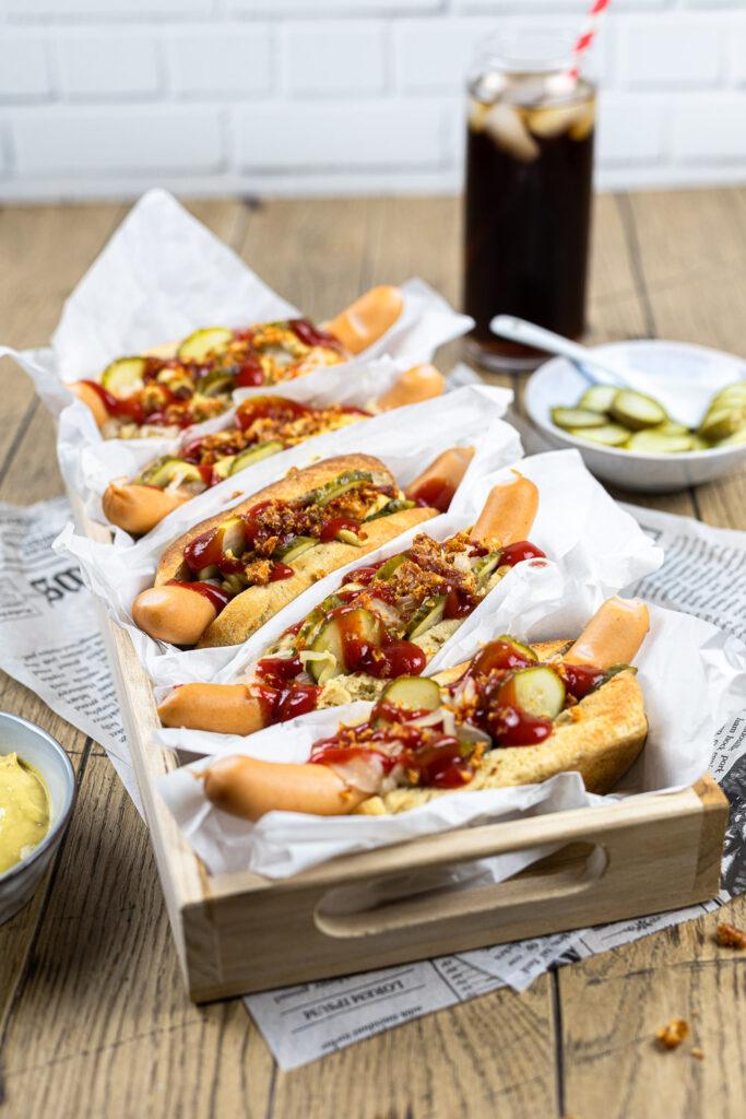 Kohlenhydratarme Hot Dogs