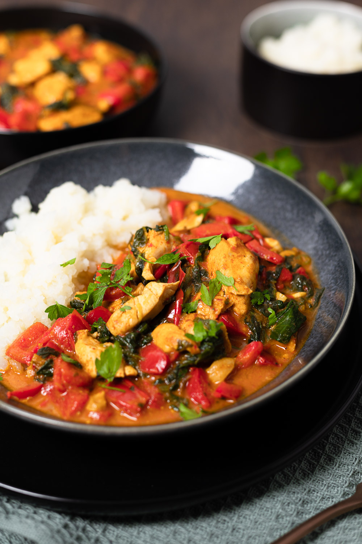 Glutenfreies Paprika-Curry