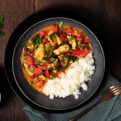 Low Carb Paprika-Curry