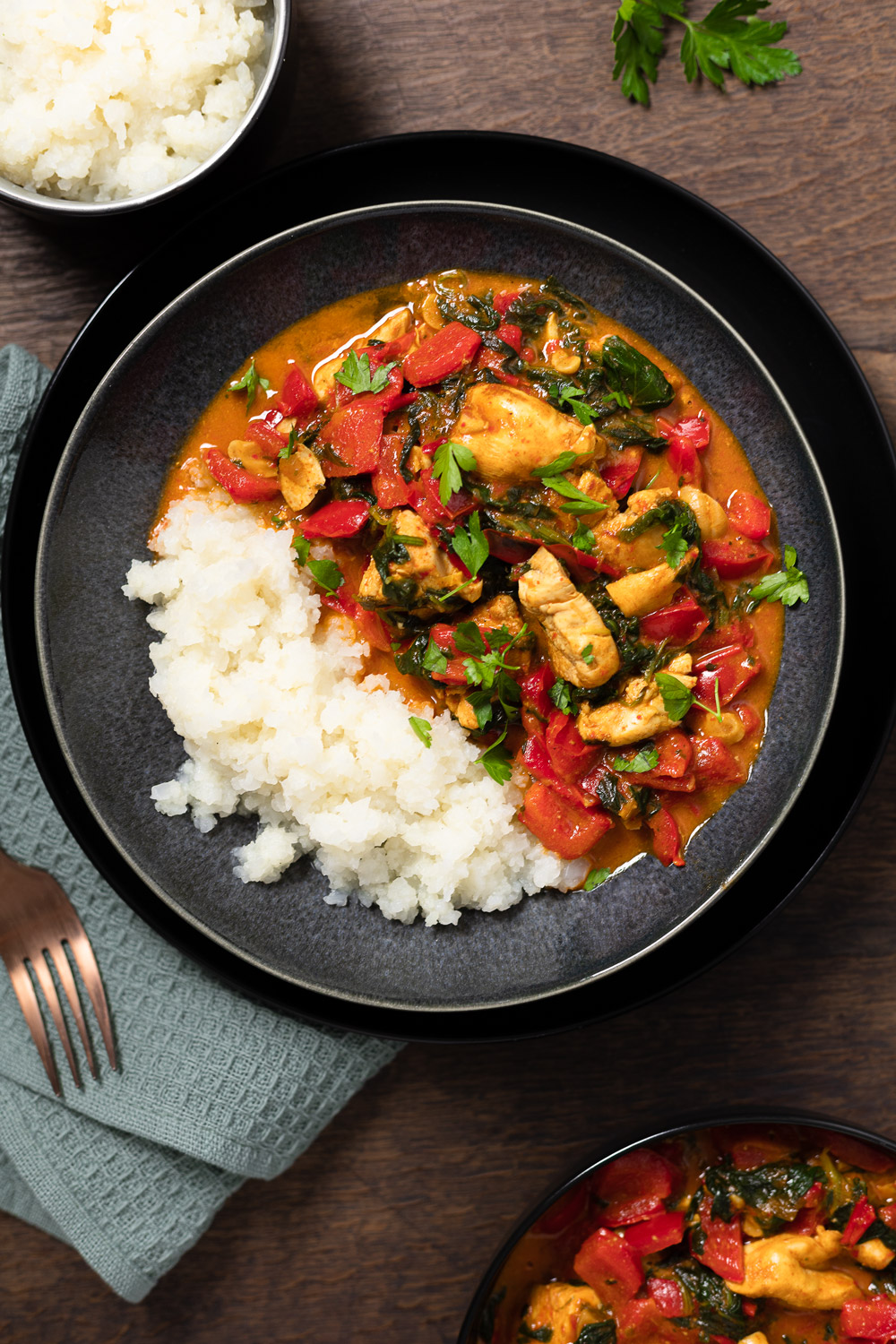 Gesundes Paprika-Curry