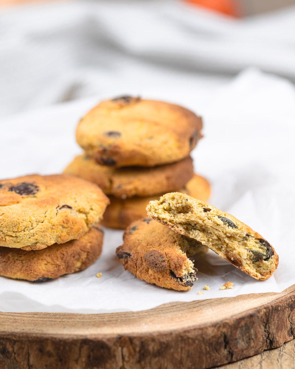 Gesunde Kürbis-Cookies